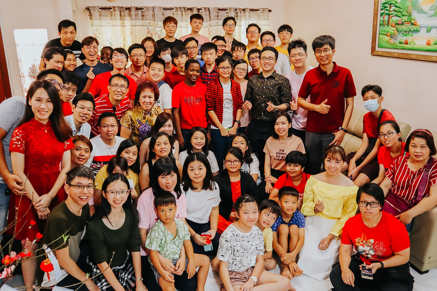 KLBC Youths Lunar New Year Visitation